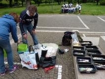 12 i materiali e le attrezzature per gli Agenti Pulenti